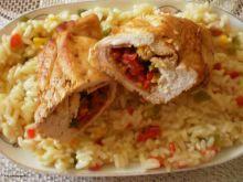 Paprykowe roladki z kurczaka :