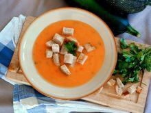 Paprykowo- cukiniowa zupa krem