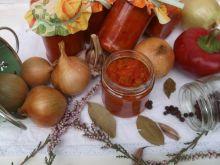 Paprykowo - cukiniowy sos na zimę