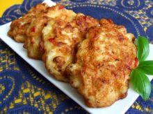 Paprykowo-czosnkowe placki z piersi kurczaka