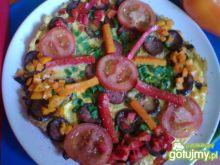 Paprykowy omlet śniadaniowy