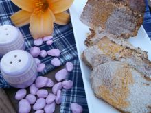 Paprykowy schab pieczony w rękawie