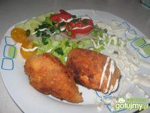 Parmezanowe kotlety z kurczaka