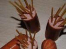 Parówki ośmiorniczki