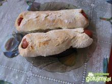 Parówki w ciescie czyli domowe hot-dogi.