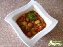 Parówki z papryką i pomidorami