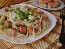 Parówkowe spaghetti