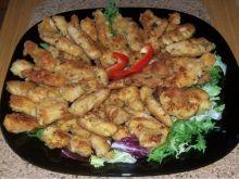 paski z kurczaka na przystawkę