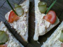 Pasta do kanapek z szynką i serem żółtym