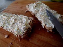 Pasta do pieczywa z porem