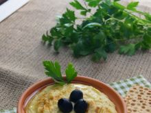 Pasta hummus z ciecierzycy