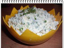 Pasta jajeczna Eli z rzeżuchą i szczypiorkiem