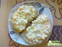 Pasta jajeczna na ostro