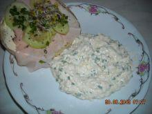 Pasta jajeczna z białym serem