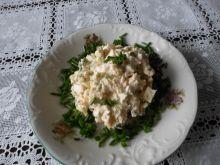Pasta jajeczna z serem feta