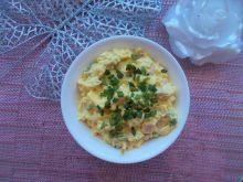 Pasta jajeczna z wędliną