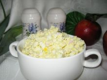 Pasta jajeczna ze serkiem