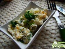 Pasta  jajeczno – pieczarkowa