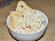 Pasta kanapkowa z twarogu i pasty orzechowej