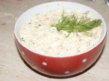 Pasta na kanapki jajeczno- łososiowa