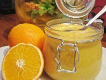 Pasta pomarańczowa z cynamonem