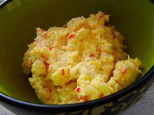 Pasta śniadaniowa jajeczna z krabem