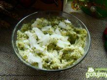 Pasta twarogowo brokułowa -kanapkowa