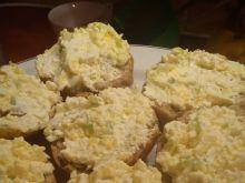 Pasta twarogowo-porowo-jajeczna