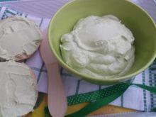 Pasta z awokado i twarożkiem