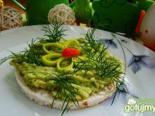Pasta z awokado na ostro