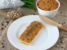 Pasta z cieciorki i suszonych pomidorów