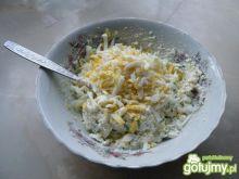 Pasta z jajek i białego sera
