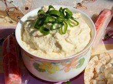 Pasta z jajek i serka wiejskiego z surimi