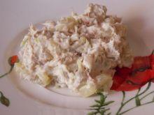 Pasta z makreli z ogórkiem