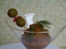 Pasta z oliwek i peperoni