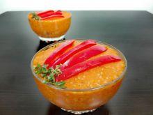 Pasta z pieczonej marchewki z sezamem