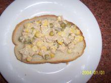 pasta z tuńczyka na kanapkę.