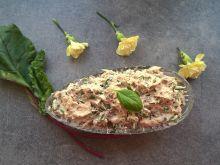 Pasta z wędzonej makreli i botwinki