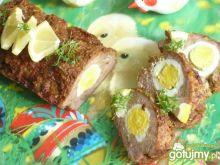 Pasztet z jajecznym oczkiem