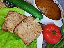 Pasztet z mięsa z rosołu pieczony