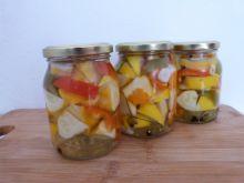 Patisony z marchewką i papryką