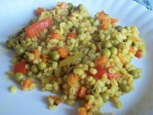 Pęczak z warzywami