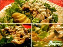 Pełnowartosciowy obiad w formie sałatki