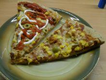 Pełnoziarnista pizza