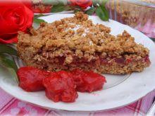 Pełnoziarnista tarta owocowa