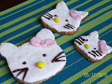 Pełnoziarniste ciasteczka Hello Kitty