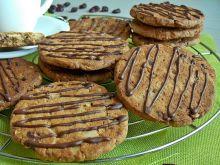 Pełnoziarniste ciasteczka owsiane z bakaliami