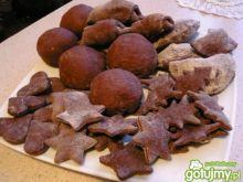 Pełnoziarniste piernikowe ciasteczka
