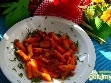 Penne w pomidorach z koperkiem