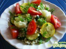 Perłowa kuskus z warzywami